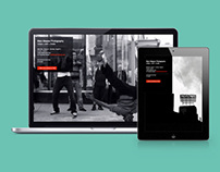 Portfolio site for freelance photographer
