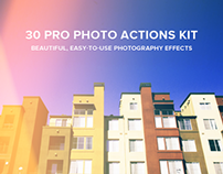 30 Pro Photo Actions Kit