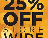 Store sale banner