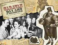 Caravan Palace - Album Re-Design