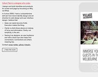 Design folio website