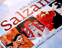 Book collection of Daniel Salzano.