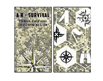 AR - Survival Business Cards