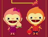Angpow design illustration