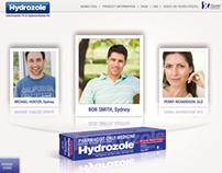 iPad sales application - Hydrozole