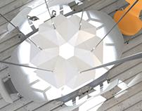 Hybrid Luminaire for Parans
