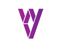 "Logo and corporate identity ""Violet Wings"""