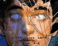 Blank White Eyes