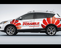 2013 - Huawei Corporate Car Branding