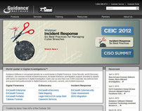 Guidance Software, Inc. Homepage 2012