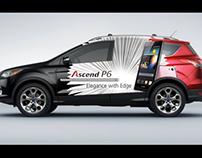 2013 - Huawei P6 Car Branding