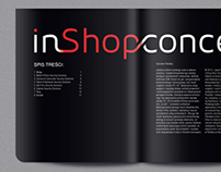 In Shop Concept - products catalog