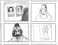 Kleftes storyboard