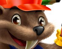 Mascot Design Castor / Beaver