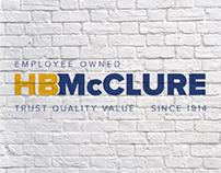 HB McClure Rebranding