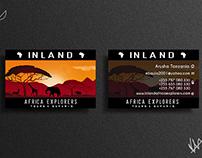 Inland Africa Explorers #Business Card !