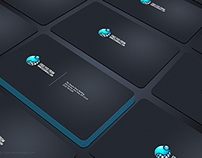 Busniesscard Showcase Mock up PSD
