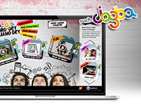 Mobilink Jazba Web layout
