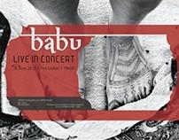 BABU Music Poster