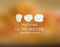 Trattoria Le Tre Bocche Website
