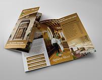 Hotel and Motel Tri-Fold Brochure Template