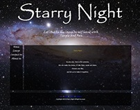Website - Starry Night - Teach people to make the lamp