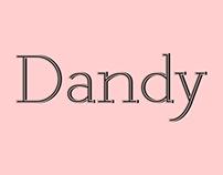 DANDY Typeface