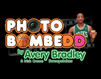 Dunkin' Donuts PHOTOBOMBEDD with Avery Bradley