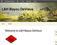 L&H Bayou De Vieux Hunt Club Website