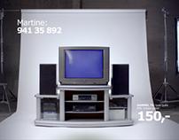 IKEA kataloglansering - TV
