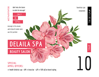 Delaila Spa | Modern and Creative Templates Suite