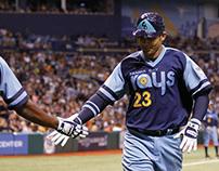Tampa Bay Rays Retro Uniform
