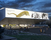 Palazzo del Cinema of Locarno - Rendering for contest