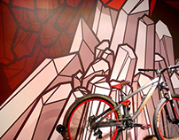 SRAM  ///  Branded Illustration: Crankworx 2013