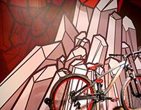 SRAM  ///  Branded Illustration: Crankworx 2013