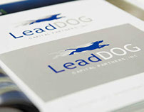 LeadDog- Logo Design + Website Design