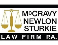 McCravy Newlon Stukie Law Firm Tri-Fold Brochure