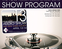 New York Audio Show '13 Show Program