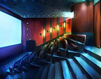 CINEMARK Spot Background Design