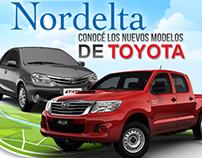 Toyota Panamericana en Nordelta