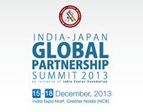 Digital Branding for Indo-japan summit 2013