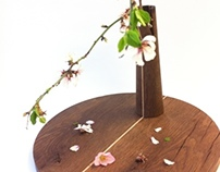 Japanese dried flower arrangement