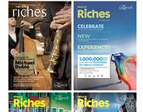 "Enrich - World of Riches ""Frequent Flyer Magazine"""
