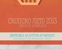 Skopje Summer 2013