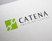 CATENA Training Centre - branding, website and print