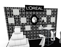 Stand for L'Oreal - 2012