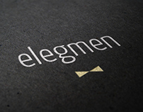 ELEGMEN - branding, website and print design