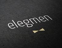 ELEGMEN - branding, website and print design