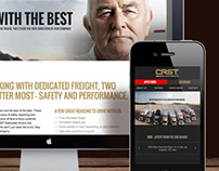 CRST Dedicated Website