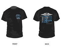 TCAT Nursing School - Logo & T-Shirt Design
